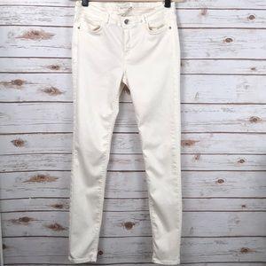 Zara Off white jeans 10